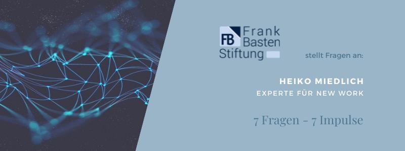 FBS - Heiko Miedlich - Experte für New Work